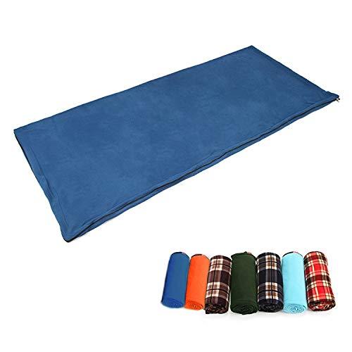 Camping CELINEZL Aotu AT6109 Sac de Couchage en Molleton de Camping en Plein air pour Adulte, Livraison de Couleurs aléatoires, Taille: 180x75cm