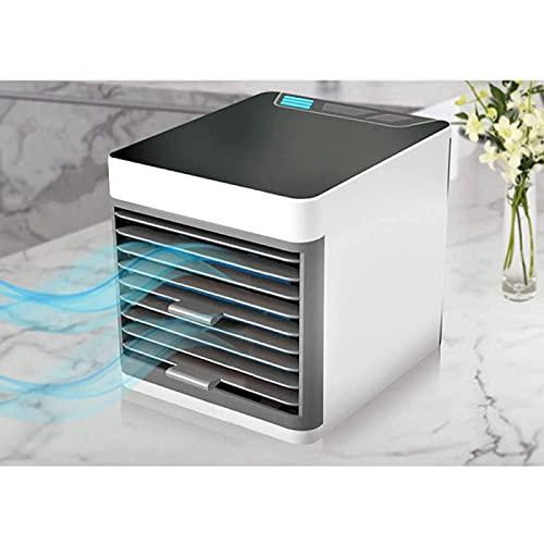 YANRU Mini Aire Acondicionado Portatil - con Luces Led De 7 Colores Humificadores De Humedad, Bajo Consumo De EnergíA Mini Aire Acondicionado Portatil - Oficina En Casa Trabajo Al Aire Libre