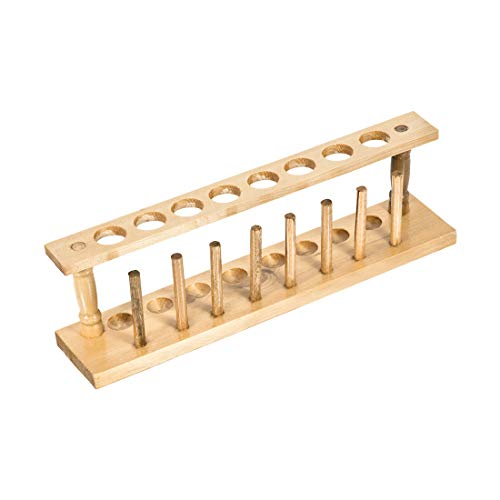 Yellow Mountain Imports 19-Inch Natural Pine Wooden Mahjong Racks with Pushers - Set of 4