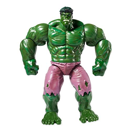 Disney Store - Figura de acción de Hulk Marvel Avengers articulada y parlante inglés original Disney