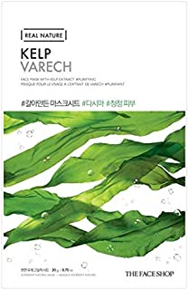 The Face Shop Real Nature Kelp Face Mask Sheet 20 G, 20 g