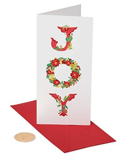 Papyrus Weihnachtskarten, in Box 1 EA Joy Kranz 16 Stück