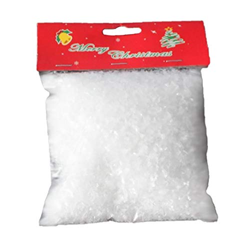 Artificial Snow Powder Christmas Simulation Snow Perform Prop for Party Christmas Decoration Children Kid Gift Home Supply