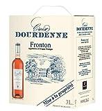 Cubi 3 Litres Vin Rosé Croix Dourdenne - AOP Fronton Rosé