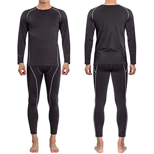 FITEXTREME MAXHEAT Fleece Lined Performance Long Johns Thermal Underwear
