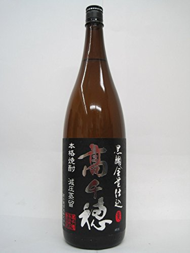 高千穂酒造『黒麹 高千穂 黒ラベル』