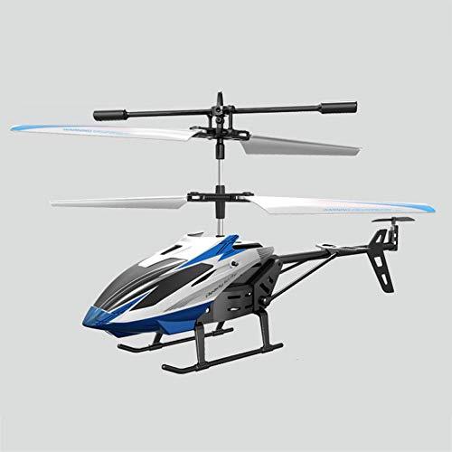 Weaston Helicóptero de Control Remoto 2.5 vías de Alta Brillante de luz automático de Balance de Seis Ejes del Sistema de Seguridad Resistencia giroscopio caída de Carga USB Regalos de Juguetes