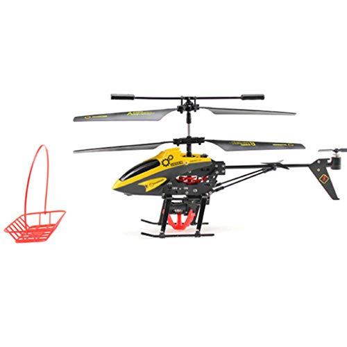AXJJ Helicóptero RC 4 Canales Altitude Hold Helicopter con Gyro 2.4 GHz y luz LED para RTF de Interior Mini helicóptero RC Juguete de Regalo para niños y Adultos