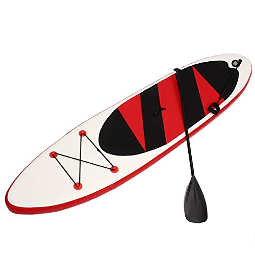Inflatable Paddle Board Outdoor 10.5ft Inflatable Surfboard Set Stand Up Adjustable Saddle Surf Boat Wave Ride Water Sports Sup Board Surfboard