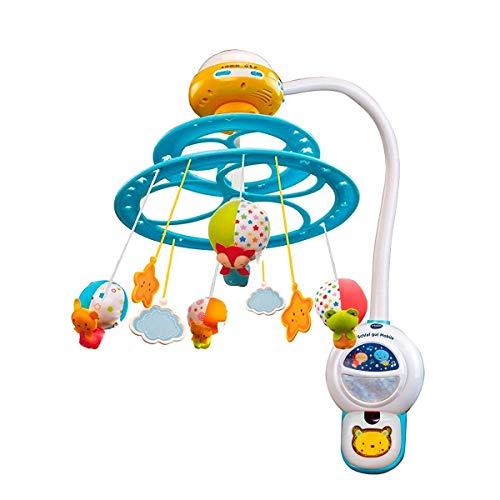 VTech 80-181022 Baby Noche Estrellitas - Proyector Móvil para Bebé, con Luces y Sonidos...