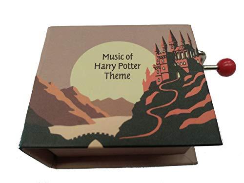 Protocol boîte de Musique avec Livre manivelle et mélodie Harry Potter Theme 2
