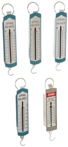 Ajax Scientific ME495-0005 5 Piece Spring Scale Set