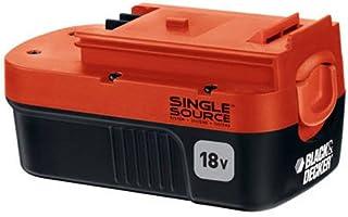 Black & Decker HPB18-OPE paquete de baterías para herramientas eléctricas de 18 V, 1, Negro