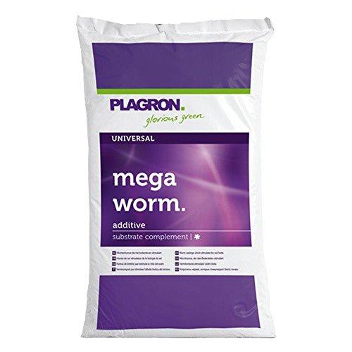 Plagron Mega Worm, natürlicher Stickstofflieferant, fein gesiebt, 25 L