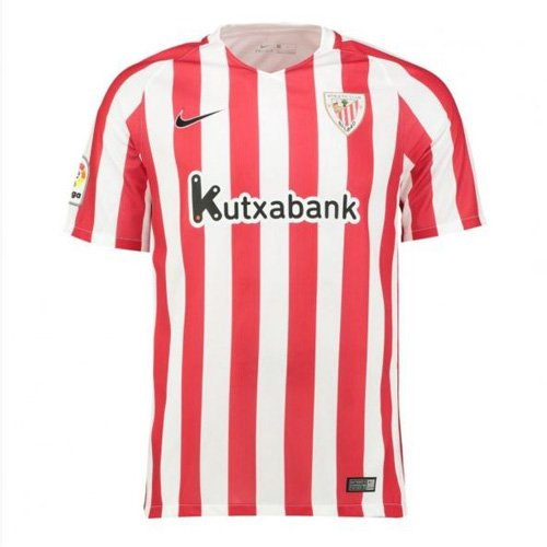 Nike 808519 Camiseta de Fútbol Oficial Athletic Club Bilbao, 1ª Equipación 2016-2017, Niños, Multicolor (University Red/White/Black), XL