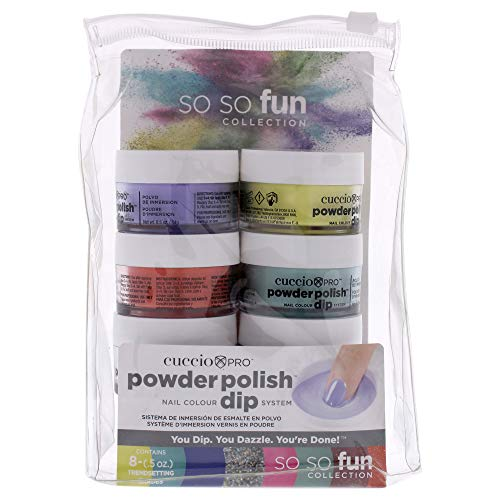 Cuccio So So Fun Kit - Powder Polish Dip...