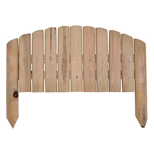 Verdelook Vampiro, clôture en Bois imprégné pour créer Une clôture à Vagues. Dimensions : 54 x 27 x 47 cm.