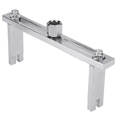 EBTOOLS Universal Einstellbarer Tankdeckel Zerlegungswerkzeug Pumpendeckel Schraubenschlüssel Entfernungswerkzeug Einstellbarer Bereich 0-195mm