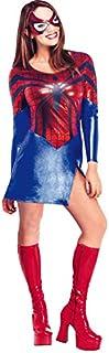 Spiderman - Disfraz de Spidergirl para mujer, Talla S adulto