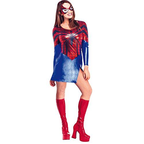 Spiderman - Disfraz de Spidergirl para mujer, Talla S adulto (Rubie