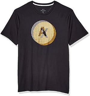 Armani Exchange Men's T-Shirt T- Black, XXL