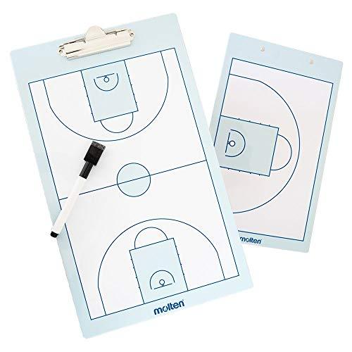 Molten Unisex– Erwachsene Taktikboard-SB0020 Taktikboard, weiß, 24 x 40 cm