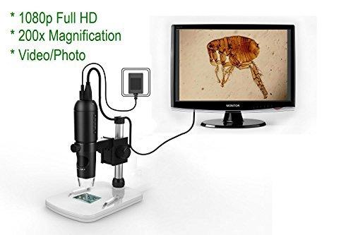 mustcam 5/Mega Pixel USB Digital Mikroskop mit Messung Software f/ür Windows//Mac//UVC Handheld /& Beobachtung St/änder 10/x 300/x Vergr/ö/ßerungen