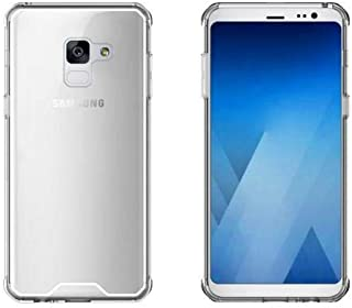 Samsung Galaxy A8 2018 Drop-resistant Acrylic Case Cover - Clear