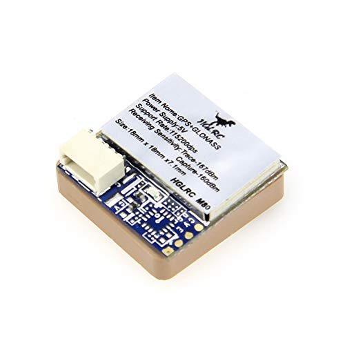 HGLRC M80 GPS Glonass Module GPS Receiver Navigation Module High Sensitivity Solution for FPV Racing Drone Betaflight Flight Controller