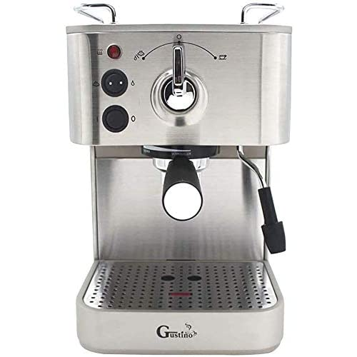 41g4YTC6hFL. SS500  - Qinmo Iced coffee maker,Espresso Machine 19 Bar High Pressure Extraction Cappuccino Milk Steamer Spout One-button 2 Cups…