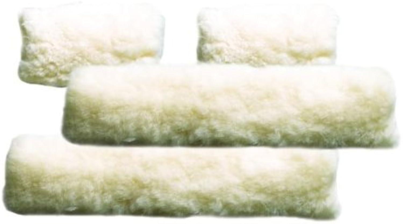 Perri's 4Piece Sheepskin Fleece Halter Set, Natural, One Size