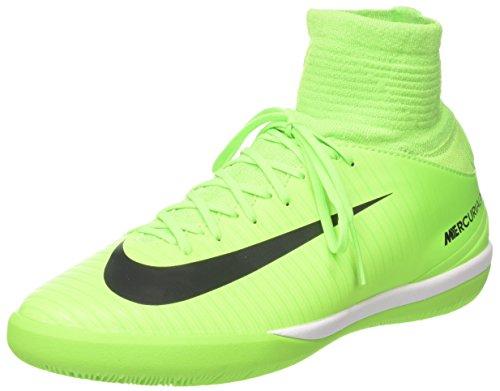 Nike Nike Unisex-Kinder Mercurial X Proximo II DF IC Fußballschuhe, Grün (Electric Green/Black-bleu Ghost Green), 36.5 EU