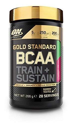 Optimum Nutrition Gold Standard BCAA Poudre, Complément Alimentaire BCAA en Poudre avec Vitamine C, Magnésium,...