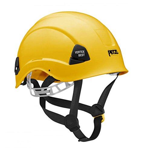 PETZL Helme Vertex Best - Casco de Escalada, Color Amarillo, Talla 53-63