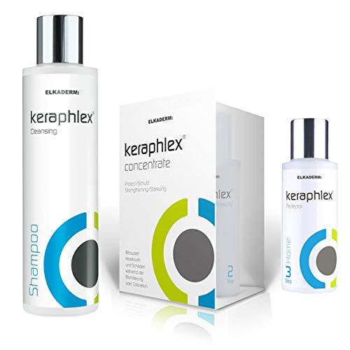 keraphlex Complete Set für die Blondierung - Starterpaket (Step 1 + 2) - Step 3 - Shampoo