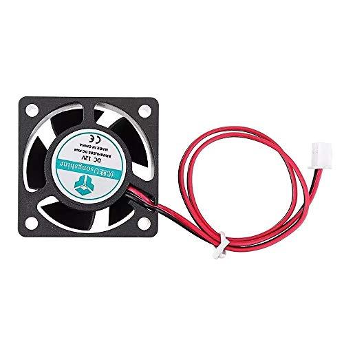 CLJ-LJ Piezas de la impresora 3D, ventilador de enfriamiento 12v 40 40 manga del rodamiento de bolitas de 20m m 4020 con el cable de 2Pin