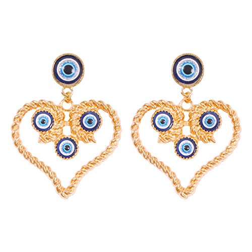 Ai.Moichien Heart Earrings Dangle Drop Freshwater Pearls Gold Plated Women Elegant Jewelry Gifts Party Accessories