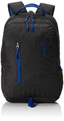 American Tourister Urban Groove 15.6 Inch Laptop Backpack, 47 cm, 27 Litre, Black (Black/Blue)
