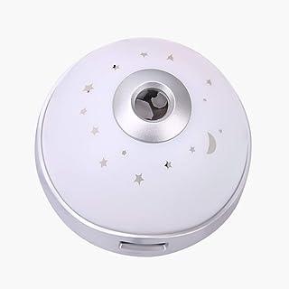 目覚まし時計投影上の天井電池式スヌーズナイトライト日付表示変色ホーム寝室のベッドサイドキッズ学生ギフト Brwzjlizn