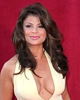 Paula Abdul With Huge Cleavage 11x14 HD Aluminum Wall Art