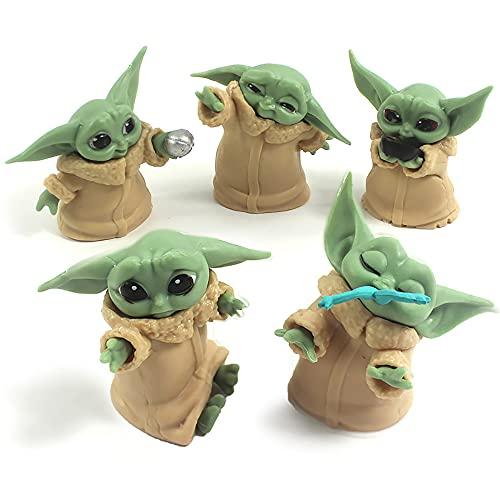 JYZ Yoda Baby Toys,El Juguete mandaloriano,Star Wars The Child Plush Toy,The Child Peluche, Baby Yoda Toy, Star Wars Baby Yoda,The Child Peluche,The Child Peluche