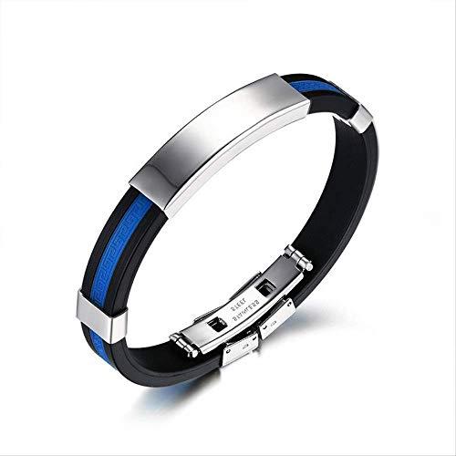 SSQYSKZ Gezeiten Hand Ring Persönlichkeit Zubehör Great Wall-Print Silikon Armband Sohn und Frauen allgemeine