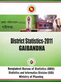 District Statistics 2011 (Bangladesh): Gaibandha