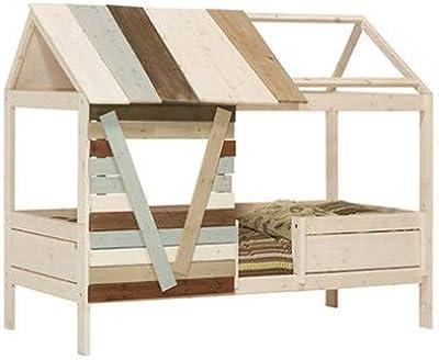 Sweet Home of Wood Montessori - Cama Infantil con Lamas: Amazon.es ...