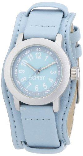 Esprit Mädchen-Armbanduhr Little Lady Analog Quarz Leder ES106414020