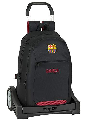 Safta Mochila Escolar con Carro Evolution Incluido de FC Barcelona