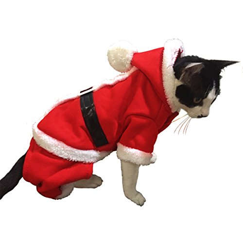 Namsan Christmas Cat Costume Cat Clothes