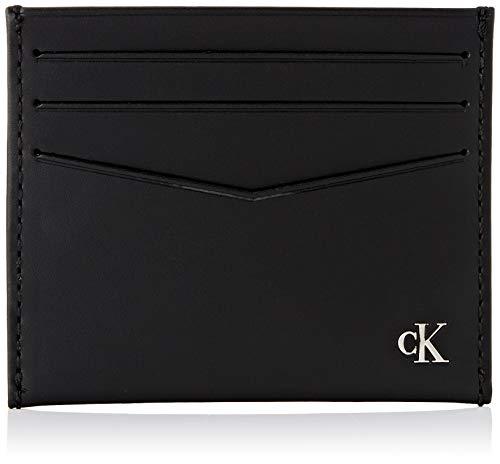 Calvin Klein Wallets, Carteras para Hombre, Black, One Size
