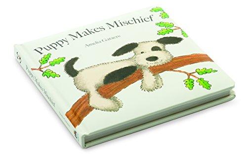 Jellycat Puppy Makes Mischief – Brettbuch