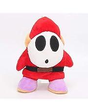 17Cm Super Mario Maski Ludzie Nieśmiały Facet Pluszowe Zabawki Miękkie Nadziewane Słodkie Zabawki Anime Lalki Świąteczne Prezenty Urodzinowe Dla Dzieci